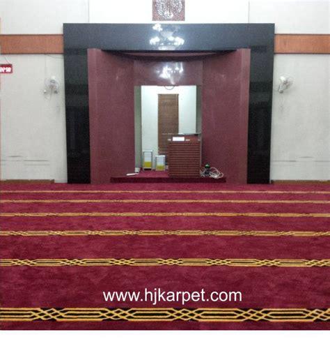 pemasangan karpet masjid al hidayah tebet pusat karpet masjid