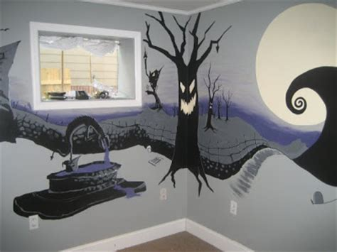 the nightmare before christmas bedroom artspace the nightmare before christmas mural