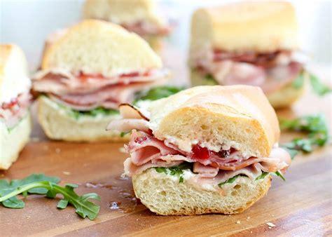 ham cheese sub sandwich the best ham sandwich you ll ever eat