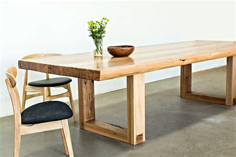 mesas de comedor modernas de madera maciza  ideas