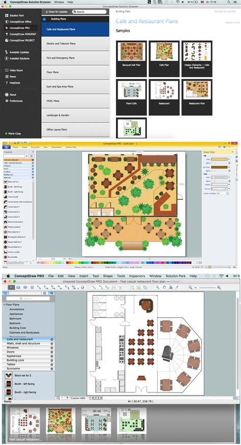 Free Restaurant Floor Plan Software | home design cool cafe floor plan design software free for