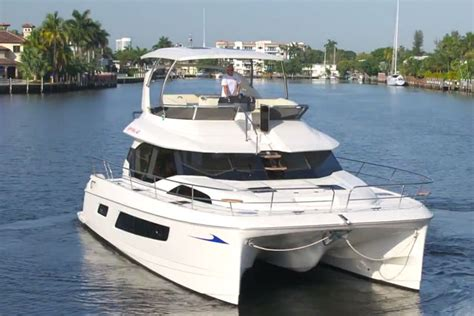 catamaran boat video aquila 44 power catamaran or trawler yes boats