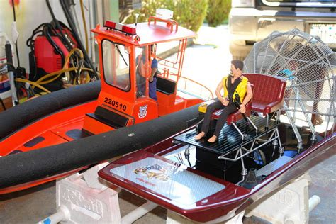 rc gas boat electric conversion rare pacer r c airboat electric conversion rc groups