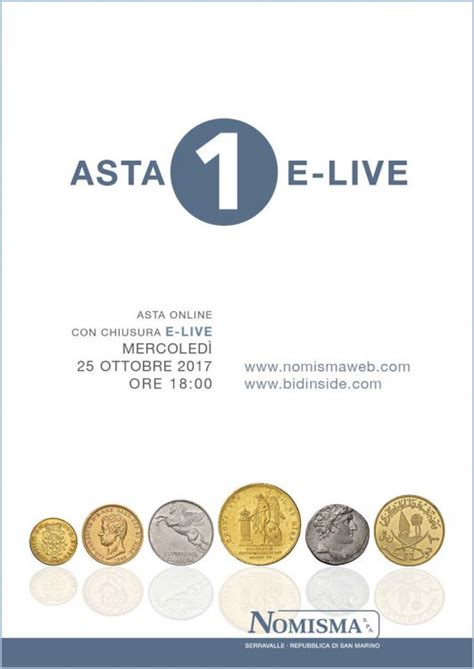 bid asta e live auction 1 nomisma numismatic auctions 1