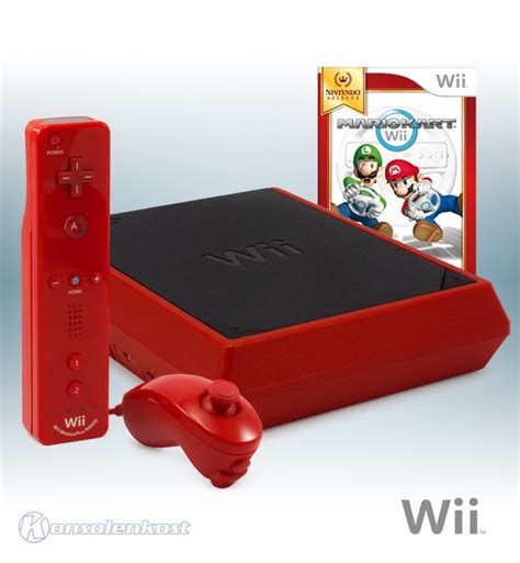 console wii mini wii console mini edt incl mario kart official