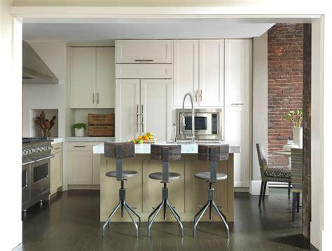 Ballard Designs Bar Stools modern loft modern kitchen boston by koo de kir