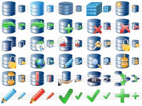 perfect database icons free download and software