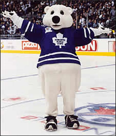toronto maple leafs carlton stock the best and most mascots today cavyhockey
