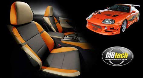 Mbtech Camaro Orange inspirasi jok orange toyota supra fast and furious mbtech