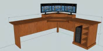 Build Your Own Reception Desk Plans For L Shaped Puter Desk House Design And Decorating Ideas