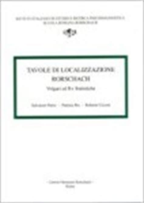 tavole di rorschach interpretazione tavole rorschach