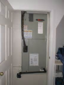 Air Handler In Closet by Class Air Conditioning Cape Coral Fl 33909