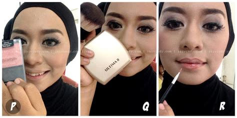 tutorial make up wisuda inivindy ini vindy yang ajaib tutorial make up natural dan hijab
