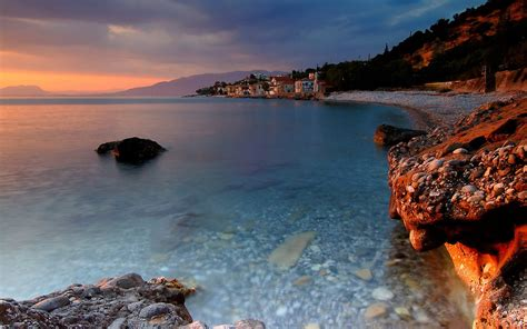 desktop themes greece coast of greece desktop wallpapers 1440x900