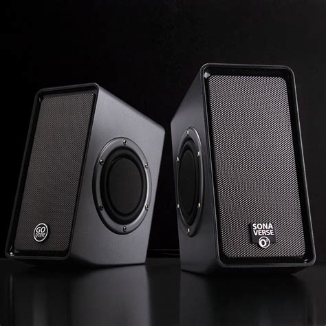 Speaker Simbadda Dual O usb powered computer stereo speaker system with dual