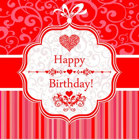 Free Birthday Card Downloads 18 Free Vector Birthday Card Images Free Birthday