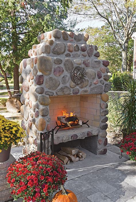 outdoor rock fireplace patios and outdoor fireplaces center of va