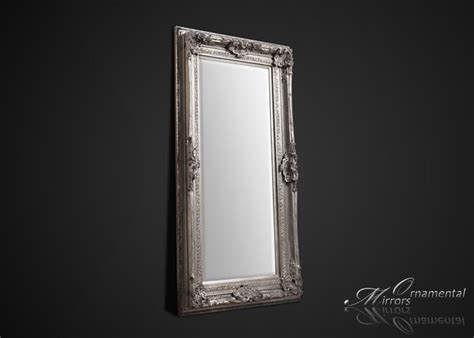 Large Silver Floor L Large Silver Floor Mirror Large Silver Wall Mirror