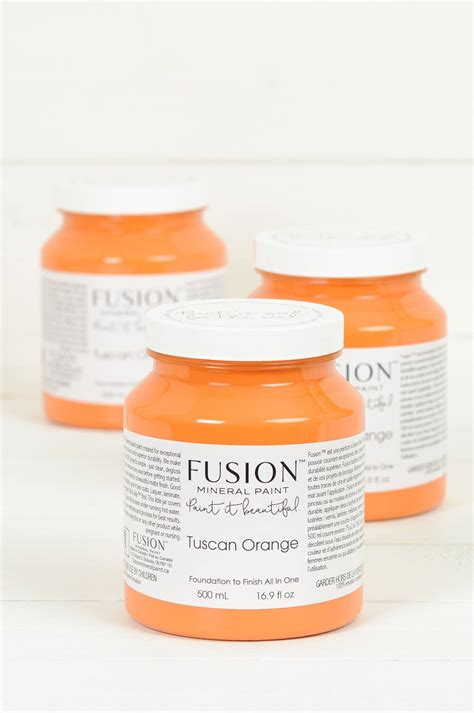 tuscan orange fusion mineral paint tuscan orange one pint 500ml from