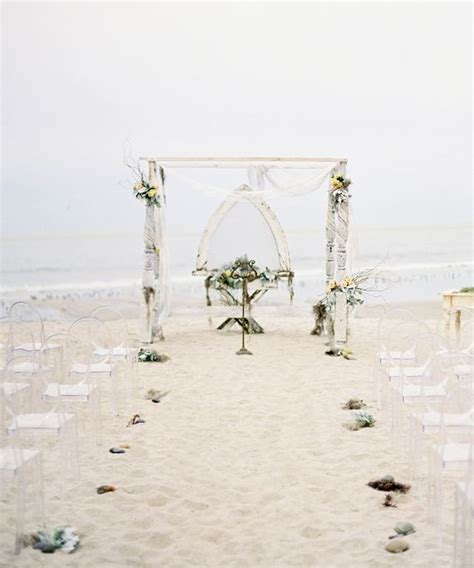 Beautiful Ceremony Decor Inspiration   Aisle Arches : Chic