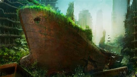 best post apocalyptic world wildness web post apocalyptic wallpapers