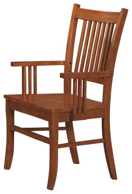 coaster furniture medium brown oak finish mission dining
