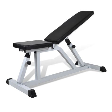 workout benches fitness workout bench weight bench vidaxl com