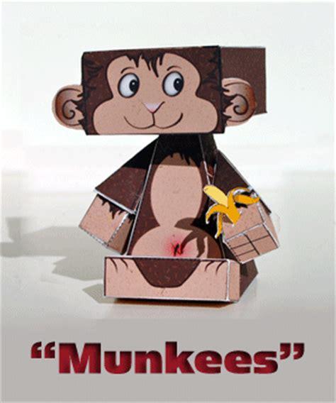Monkey Papercraft - monkey papercraft