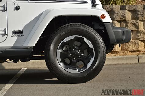 jeep polar edition wheels 2014 jeep wrangler polar review performancedrive