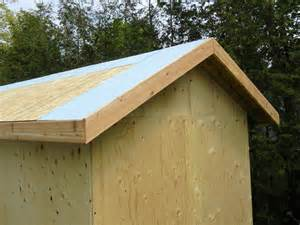 samuel osb thickness for shed roof