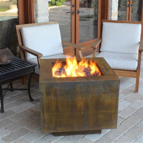 Fire Pits Great For Fall And Winter Modern Fire Pits Modern Firepits