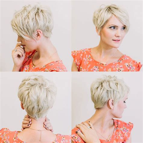 front back picturesof hairstyle 16 trendy short hairstyles for summer circletrest