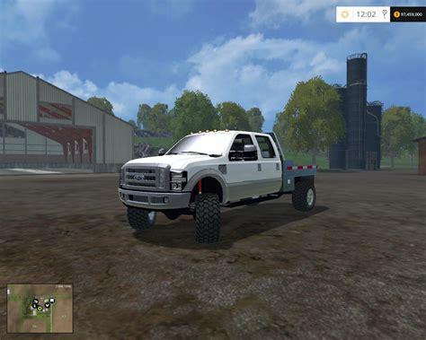Ford F 350 Flatbed V2 0 Fs 15 Farming Simulator 2019