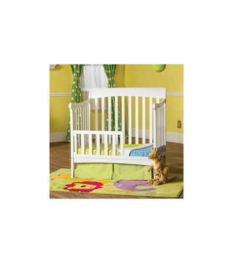 child craft ashton mini convertible crib in matte white