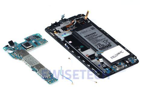 Samsung Note 5 Speaker Sensor 1 Samsung Galaxy Note 5 Teardown Myfixguide