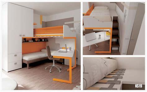 chambre enfant lit superposé chambre en mezzanine