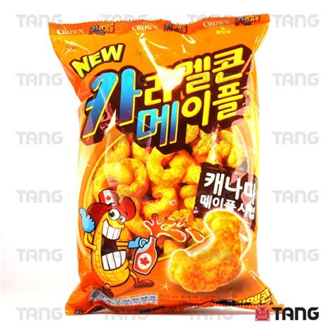 Corn Choco Snack Korea korean snacks tang the asian food emporium