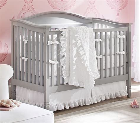 Ruffle Crib Bedding Ruffle Nursery Bedding Pottery Barn