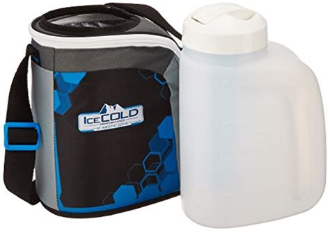 hydration jug with insulated wrap water bottle insulated cooler hiking icecold hydration jug