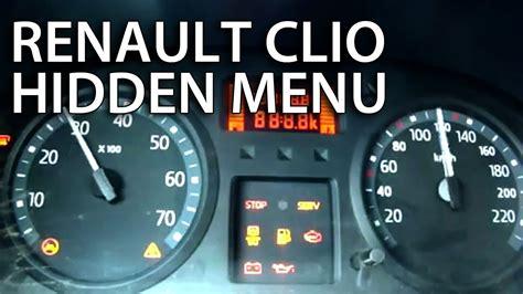 renault clio ii test menu thalia dacia logan
