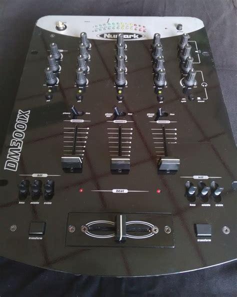 console numark dm3001x numark dm3001x audiofanzine