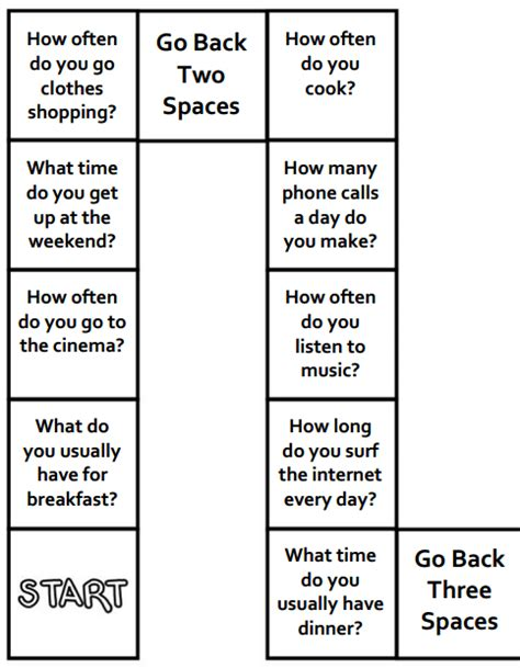 board card template move back two spaces esl board provide a safe space to practice new