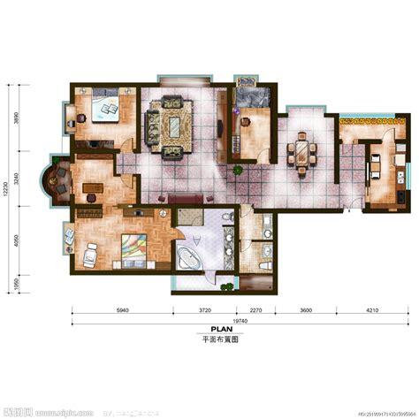 furniture space planning 室内平面布置图源文件 室内设计 环境设计 源文件图库 昵图网nipic
