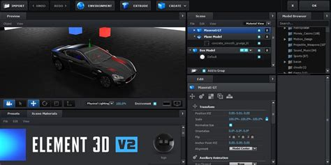 tutorial video copilot element 3d video copilot element 3d v2 unveiled by rich young