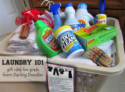 gift baskets for college students doodles laundry 101