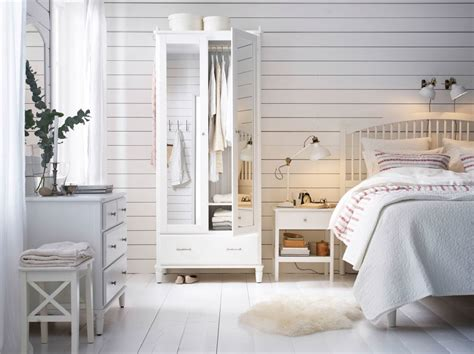 ikea bedroom storage a large country style bedroom with a wardrobe with mirror