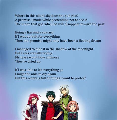 ending anime hataraku maou sama 147 best the is a part timer images on