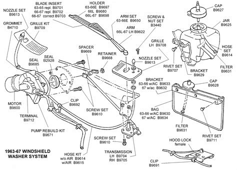windshield wiper parts diagram wiring diagram and fuse box diagram 92 ford taurus wiper motor replacement wiring diagram and fuse box