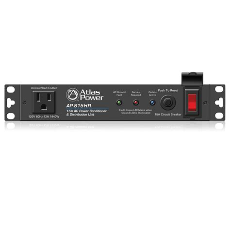 Rack Power Conditioner by 15a Half Rack Width Ac Power Conditioner And Distribution