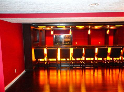 cool basement bar ideas modern basement cleveland